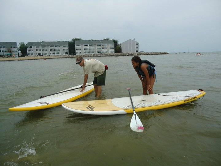 Stand up paddle Pittsburgh Demo