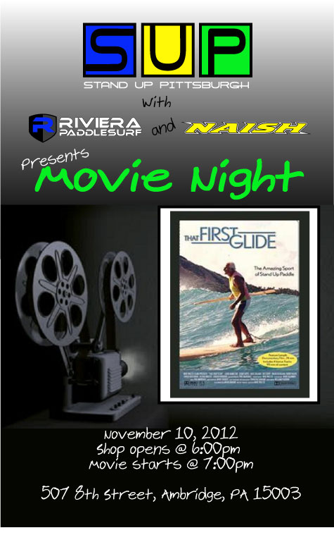 Stand Up Paddle Board Movie Night!