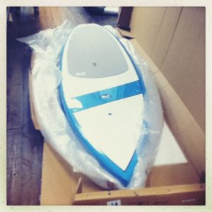 """2013 Riviera Voyager 12'6"""" at Stand Up Pittsburgh"""