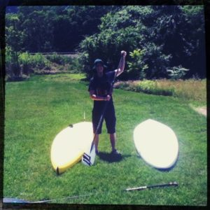 VO Stand Up Pittsburgh paddle boarding