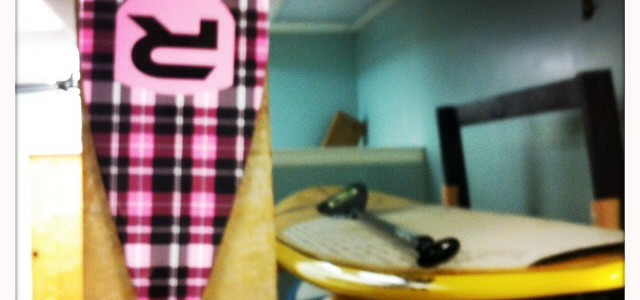 Check out this new paddle!