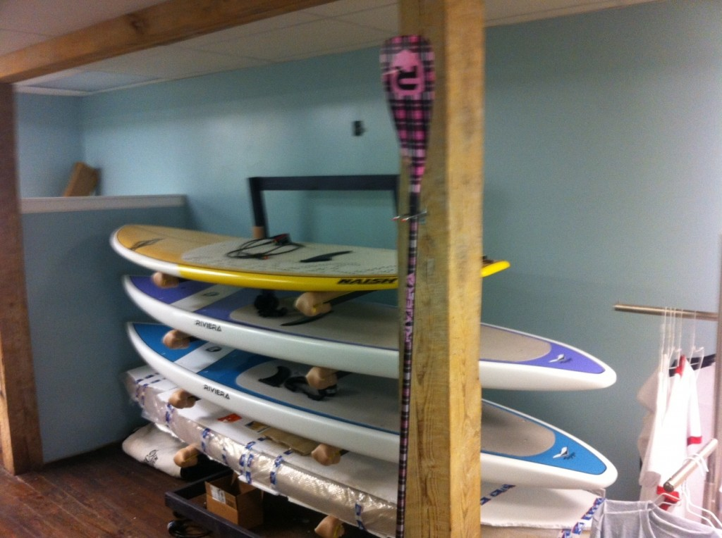 Riviera Naish Plaid Paddle stand up pittsburgh