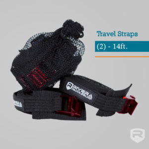 Stand Up Pittsburgh Riviera SUP straps