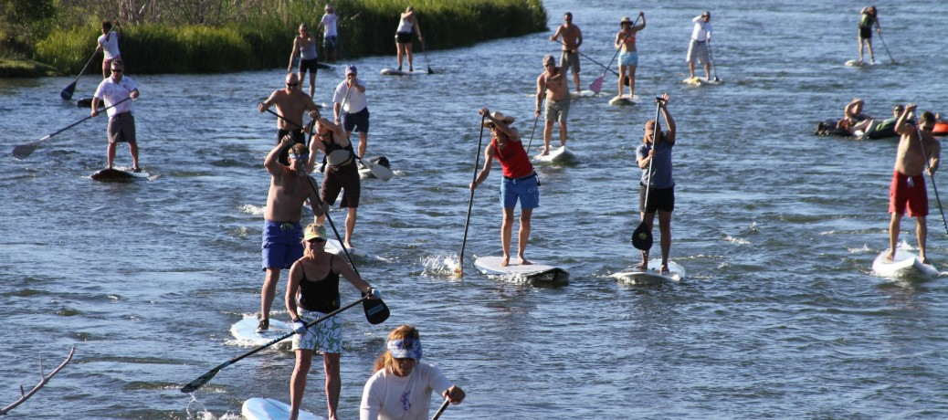 Pittsburgh's First Stand Up Paddle Board Race!